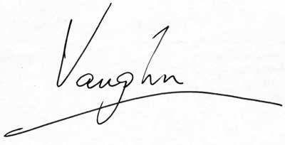 Vaughn Signature